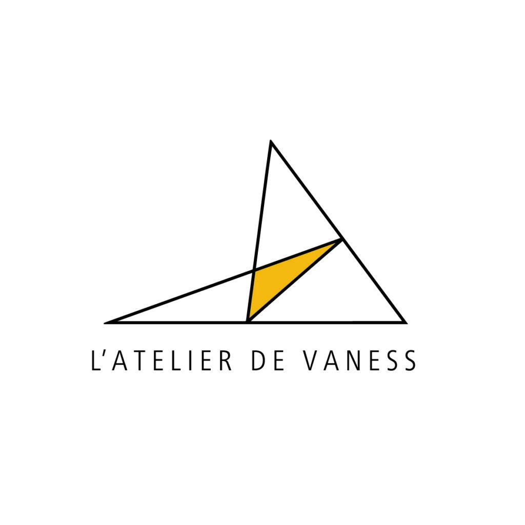 logo l'Atelier de Vaness Vitrail